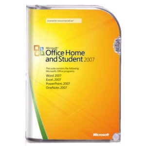 LICENCIA OFFICE 2007 MS OEM HOME AND STUDENT 32B 3PKL DVD