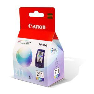 CARTUCHO CANON CL211 TRICOLOR