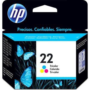 CARTUCHO HP 22 TRICOLOR