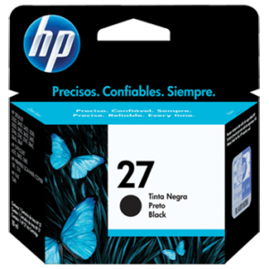 CARTUCHO HP 27 BLACK ORIGINAL