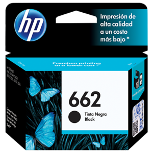 CARTUCHO HP 662 BLACK