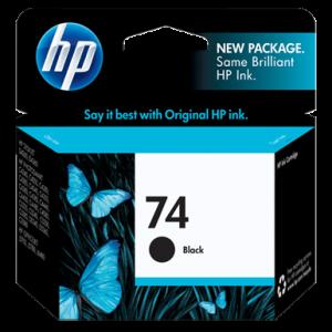 CARTUCHO HP 74 BLACK