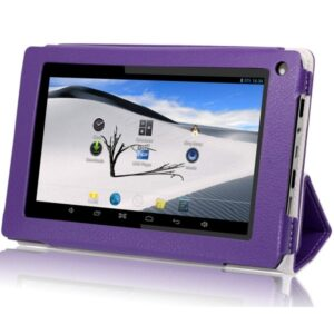 IVIEW-774TPC-PURPLE-iView-SupraPad-8GB-7-inch-Dual-Core-Android-4.2-Tablet-PC-with-Leather-Case